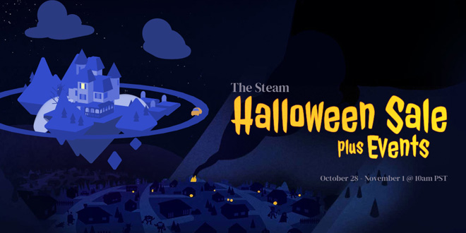 Steam Halloween Sale 2019 gestartet